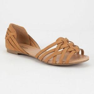 Womens Brown Sandals